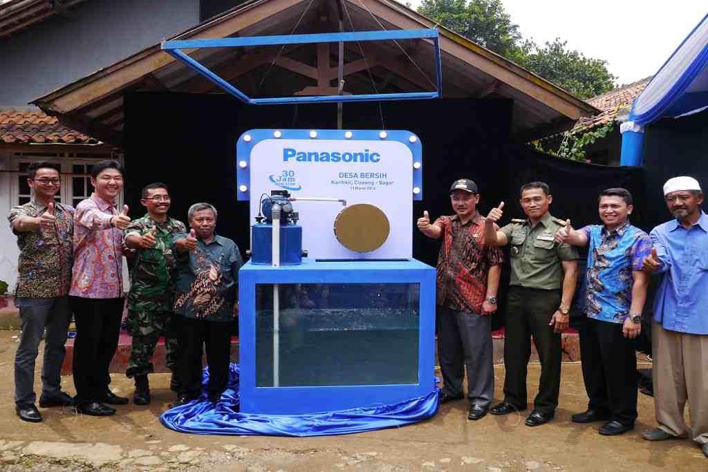 Trinkwasser ist ein Menschenrecht. Panasonic ermöglicht den Zugang.