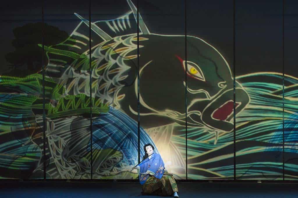 Der Kampf mit dem Karpfen. Kabuki erobert Las Vegas.