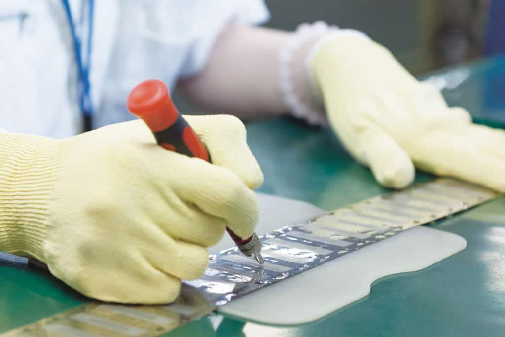 Klingenherstellung bei Panasonic