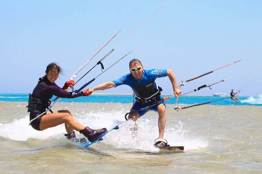 Kitesurfen aus Leidenschaft: Sabrina Lutz.