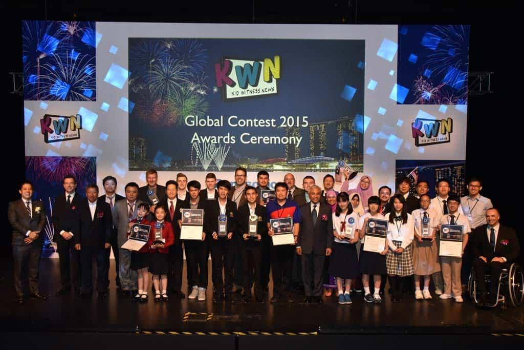 Internationaler Kid Witness News Film-Wettbewerb 2015. Die Finalisten.
