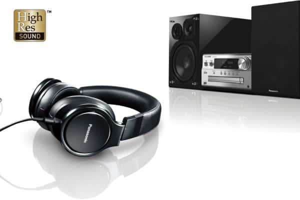 High Resolution Audioquellen von Panasonic