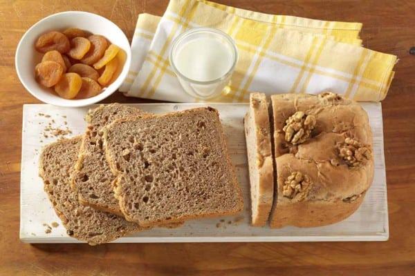 Buttermilch-Walnuss - Dinkelbrot selbstgemacht genießen!