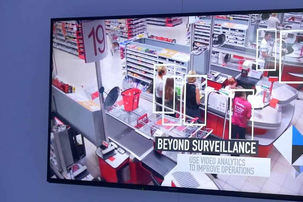 State-of-the-Art Video-Analyse für Supermärkte