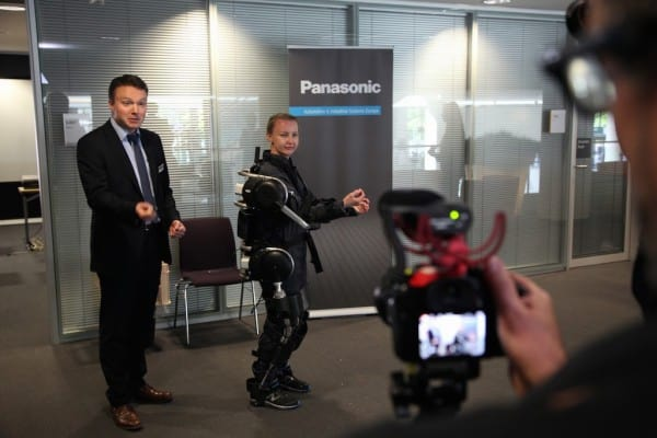PCIM 2016 Panasonic Power Assist Suit