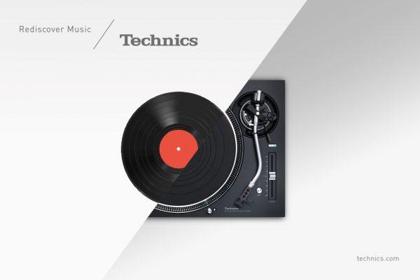 Technics Plattenspieler SL-1210GR