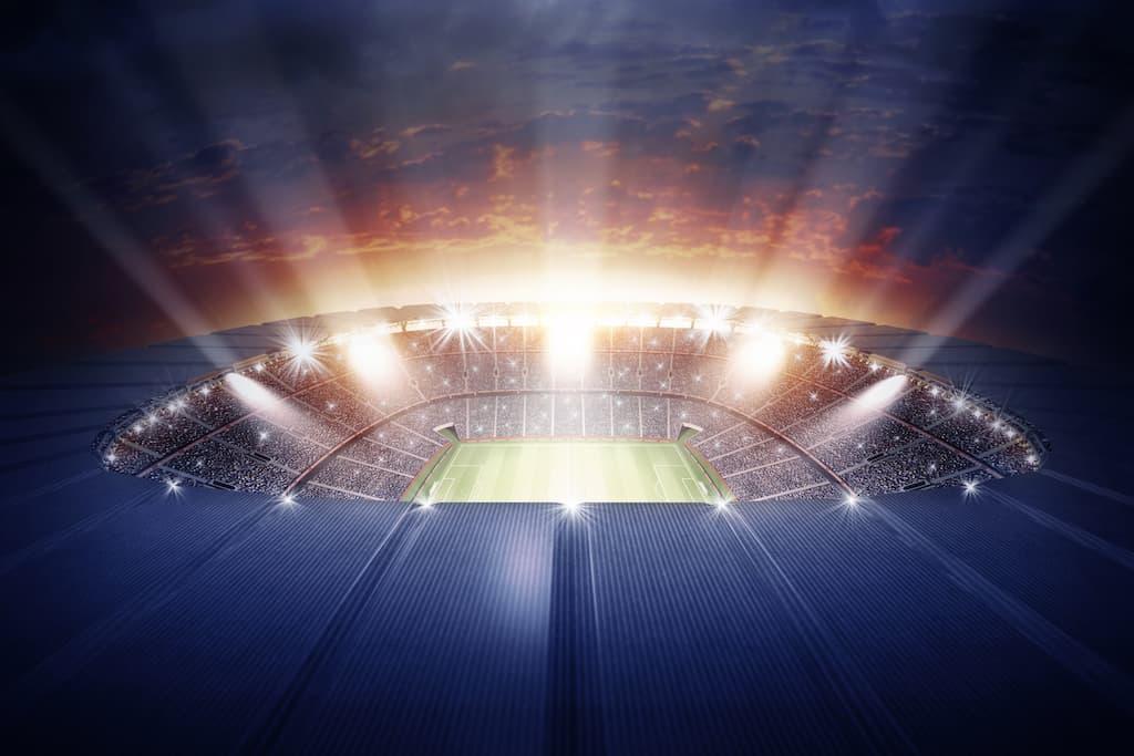 Fußballweltmeisterschaft und Europameisterschaft: Anpfiff in 4K.