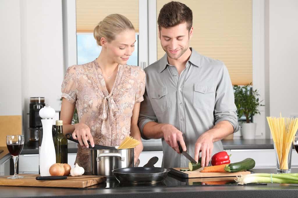 Social Cooking bringt Freunde zusammen.