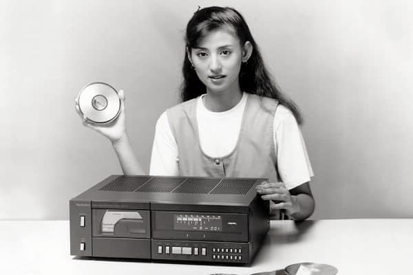 Panasonic erster CD-Player - Innovationen der 80er