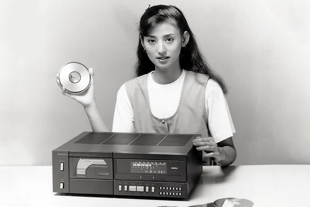 Panasonic erster CD-Player - Innovationen der 80er