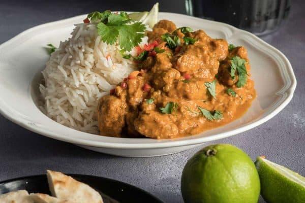 Indisches Chicken Tikka Masala