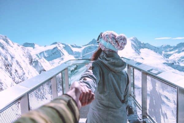 Hautpflege im Skiurlaub