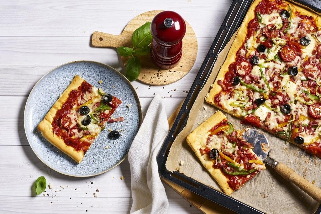 Familienpizza selbermachen
