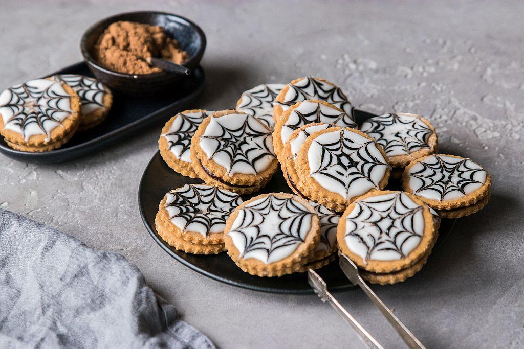 Glutenfreie Halloween Cookies