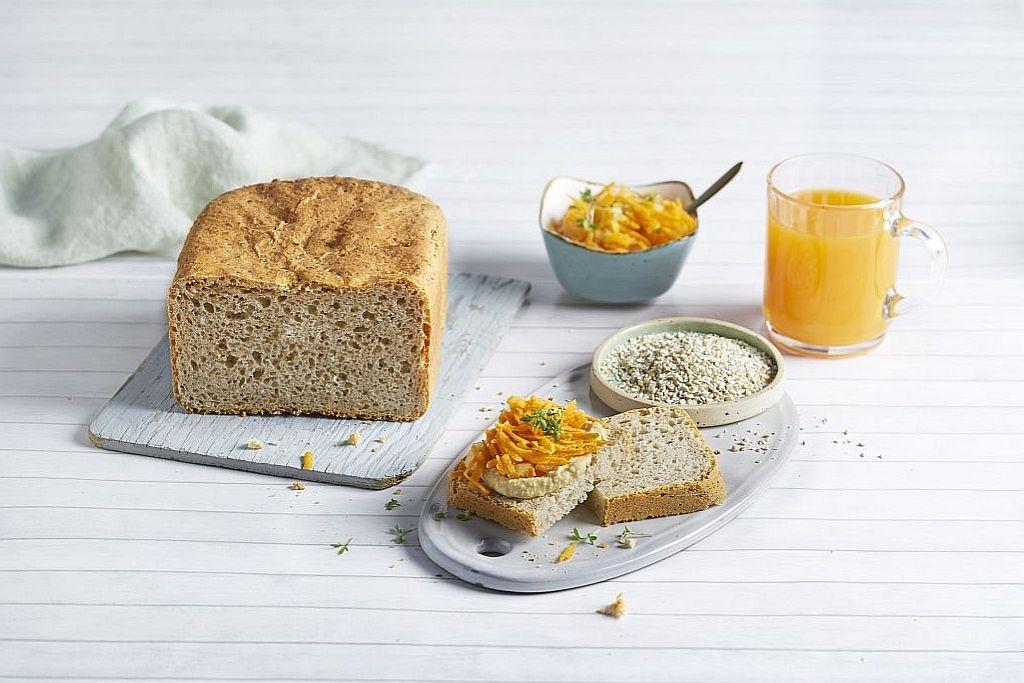 Weizenmischbrot mit Schrot