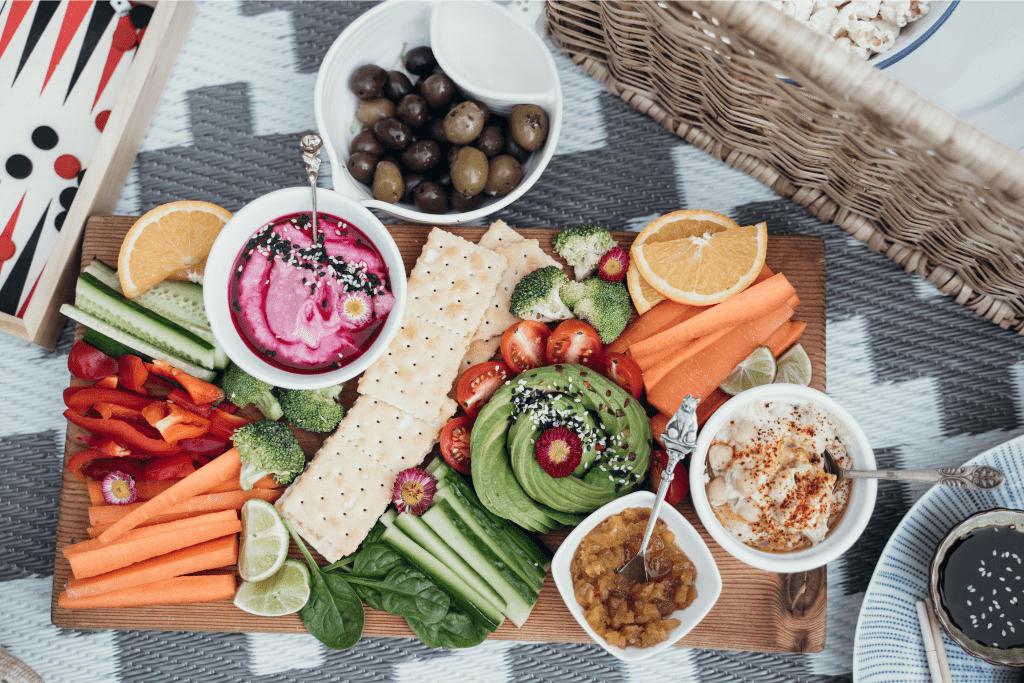 Vegane Snacks schnell und lecker zubereiten.