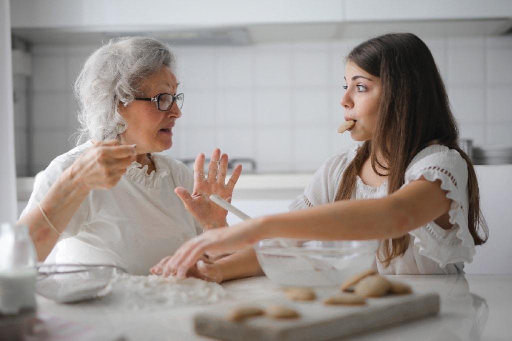 Omas Küche: Zeitlose Tipps & Tricks.